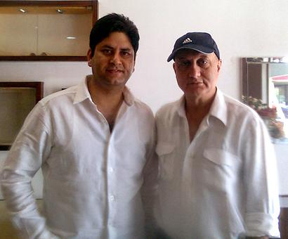 Spotted: Anupam Kher in Patiala