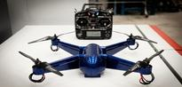 3D print operational drone with embedded electronics