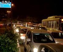 Protest chokes Delhi's Qutab Institutional Area