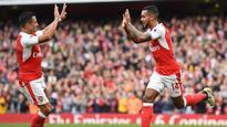 Premier League: 10-man Arsenal move to second spot courtesy Walcott brace