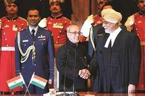 Khehar sworn in as 44th CJI