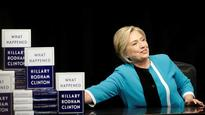 Hillary Clinton unleashed the sass on Donald Trump after he criticised her new book