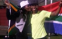 Caster Semenya's wife has her 'back'