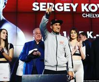 Sergey Kovalev takes tune up bout ahead of Andre Ward fight