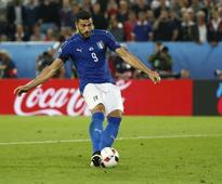 Soccer-Italy send Pelle home after Spain tantrum
