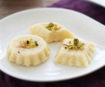 Khowa Coconut Barfi Recipe