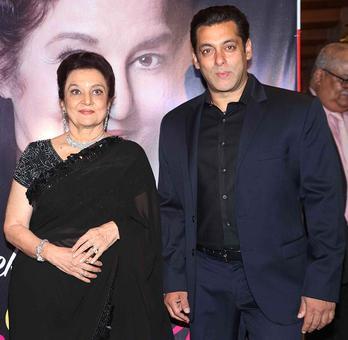 PIX: Salman unveils Asha Parekh's autobiography