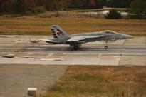 GA-EMS' advanced arresting gear completes first F/A-18E fly-in recovery