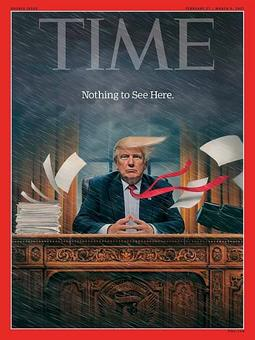 Time's latest Trump cover: 'Nothing to see here'