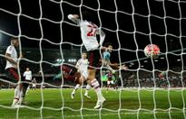 Soccer-Palace sign Tomkins from West Ham