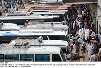 Passengers being overcharged as mass exodus begins