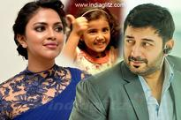 Amala Paul and Baby Nainika team up with Arvind Swamy