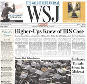 Audit Notes: WSJ on the IRS, countering Kinsley, Cramer gets an 'F'
