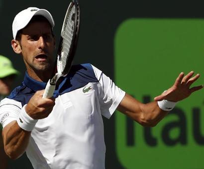 Djokovic and Wozniacki crash out of Miami Open
