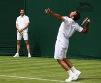 A safe pair of hands: Cech swaps Euro 2016 for ball boy duties at Wimbledon