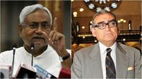 Nitish Kumar slams Katju's vitriolics on Bihar, asks him to not become 'Mai-Baap' of the state