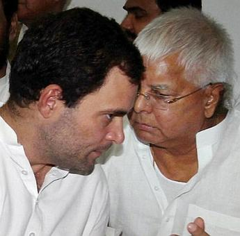 Lalu says Rahul may attend his anti-BJP rally, Sonia won't be there