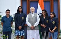President confers Rio stars Khel Ratna awards along with Jitu Rai