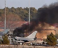 Spain: 10 dead, 21 hurt after Greek F-16 jet crashes at Nato at base