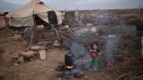 Syria refugees massed at Jordan border
