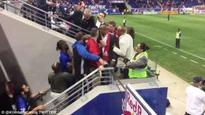 You Crossed The Line! Angry Drogba clashes with fan in New York