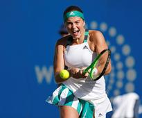Eastbourne International: Jelena Ostapenko through to third round, Dominika Cibulkova crashes out