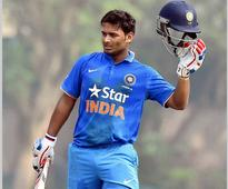 Young star shines: Rishabh Pant smashes 36-ball 59 against England