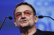 Bono raises his voice for abducted African girls during Lupita's play