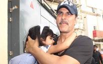 SEE PICS: Doting dad Akshay Kumar takes daughter Nitara out on a movie date