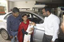 #BeingHuman: Ola driver saves the day for pregnant mother (baby delivered en route to hospital)