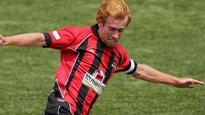 Aaron Clapham targets three points for the Canterbury Dragons in SI football derby