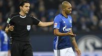 Naldo sent off in cruel Schalke defeat, Gladbach win