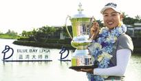 Lee keeps rivals at bay for China win