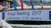 DW reporting from Davos