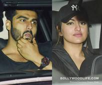 Ex lovers Arjun Kapoor and Sonakshi Sinha party under one roof with Karan Johar- view HQ pics