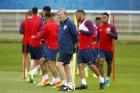 England manager Hodgson's future linked to Eur... England's coach Roy Hodgson during training. (REUTERS/Lee Smith) ...