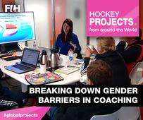 FIH initiative challenges barriers to coaching