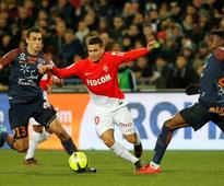 Ligue 1: Monaco fail to win against Montpellier in Radamel Falcao's absence; Marseille defeat Rennes