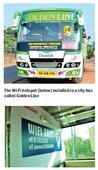 A private bus in Mangaluru offers free Wi-Fi