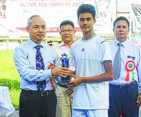 Shaolin Chandam Memorial Tennis Bhusan clinches U 14 title