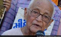 Gandhian Chunibhai Vaidya Dies at 97