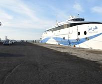First passenger ferry from Oman arrives at Chabahar Port in Iran