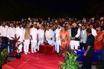 Mangaluru: Siddaramaiah inaugurates musical fountain, laser show, toy train at Kadri Park