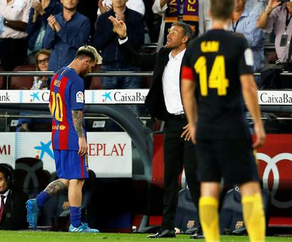 La Liga: Barca held by Atletico after Messi limps off; Real drop points