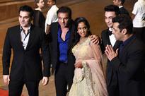 B-town attends wedding reception of Salman Khan's sister Arpita