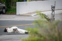 Man in panda suit makes bomb threat, gets shot by US cops