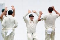 Australia batsmen Steve Smith and Usman Khawaja ram home advantage over Sri Lanka in first Test