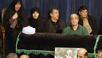 Mourners pay tribute to late Iranian President Akbar Hashemi Rafsanjani