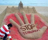Odisha Sand artist condemn the attacks on Canadian parliament through sand art