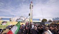 Defiant Iran test fires ballistic missile 'Khorramshahr'